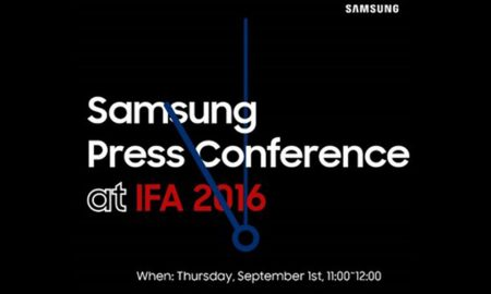 Conférence Samsung IFA 2016