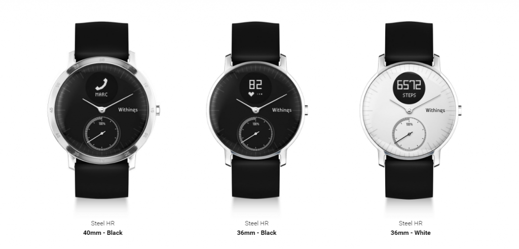 Design Withings Steel HR