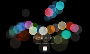 Keynote Apple 7 Direct 7 Septembre