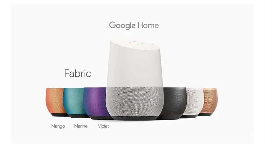 Google Home Couleurs