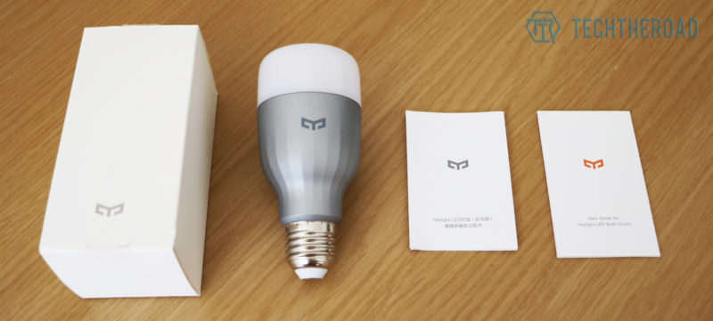 unboxing xiaomi yeelight smart led bulb