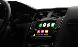 système de navigation apple carplay